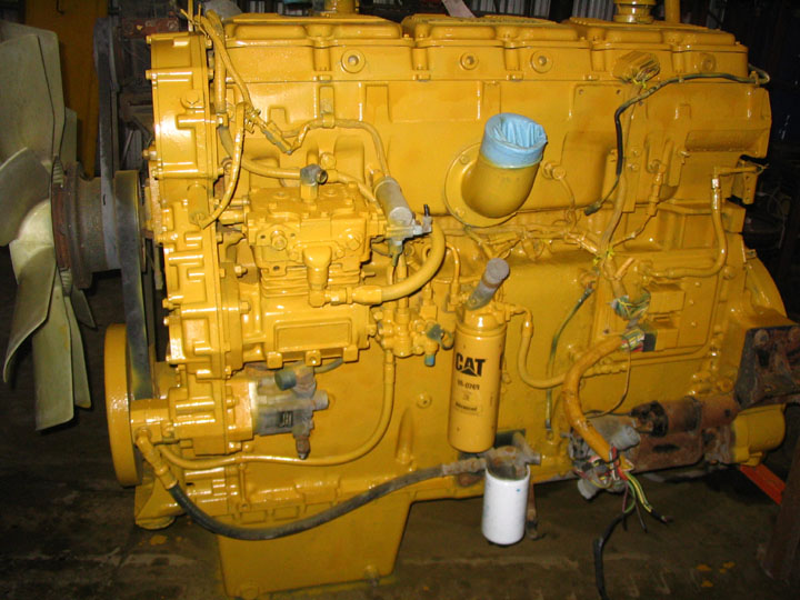 Caterpillar Engines Various Models And Years Red Ram