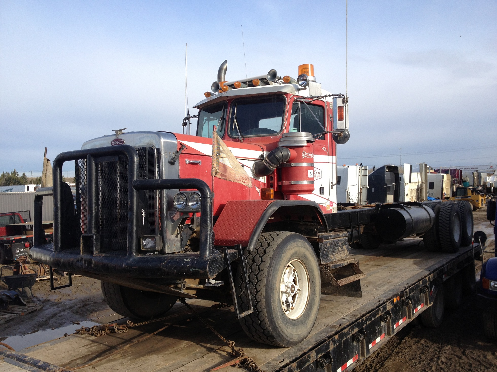 1986 Peterbilt 353 Red Ram Sales Ltd Edmonton Alberta