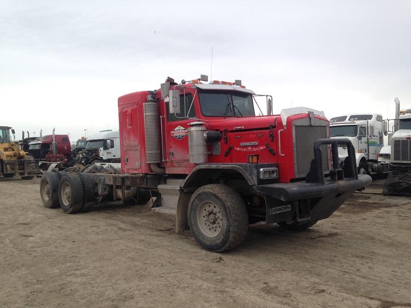 1995 Kenworth C500 Red Ram Sales Ltd Edmonton Alberta
