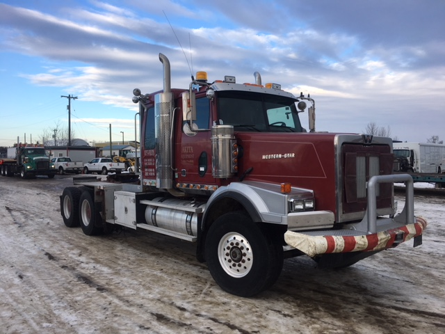 2007 Western Star 4900sa Red Ram Sales Ltd Edmonton